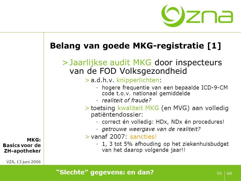 Belang van goede MKG-registratie [2]